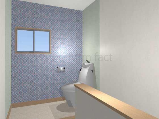 2階にトイレを新設