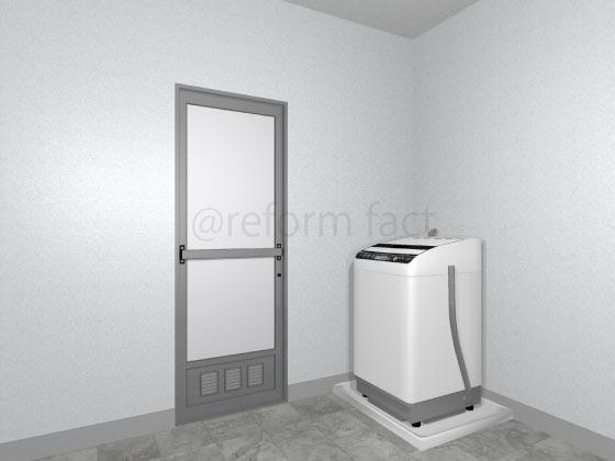 浴室ドア交換前
