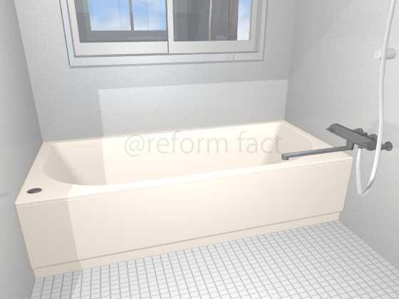 浴槽塗装,アイボリー