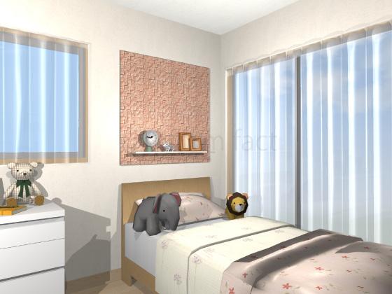 子供部屋,ベッド上,エコカラット,カッセ