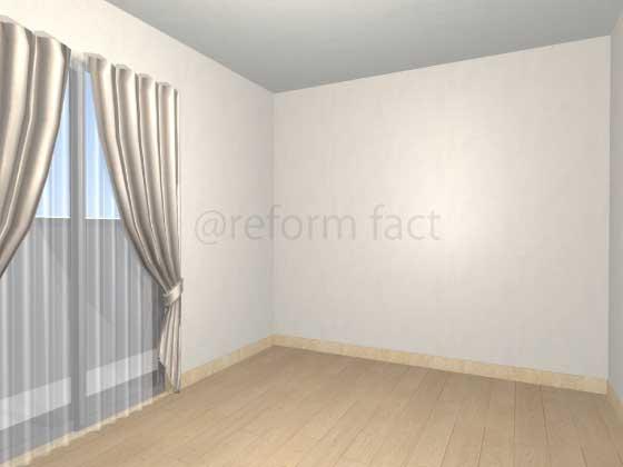 子供部屋,間仕切り壁工事,工事後,イメージ