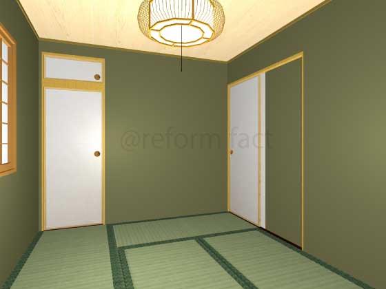 和室,押入れをトイレにリフォーム,工事後,イメージ