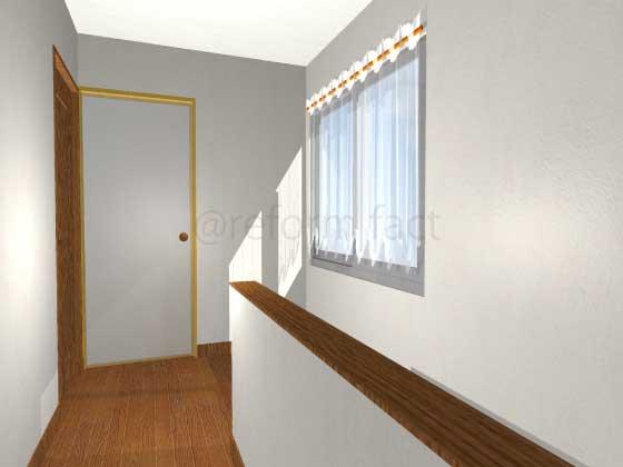 廊下,押入れをトイレにリフォーム,工事前,イメージ