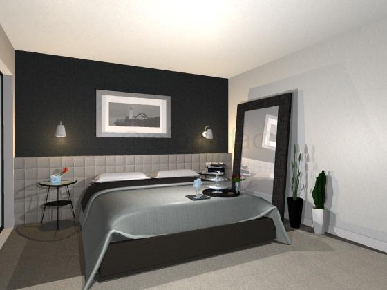コンテンポラリースタイル,寝室