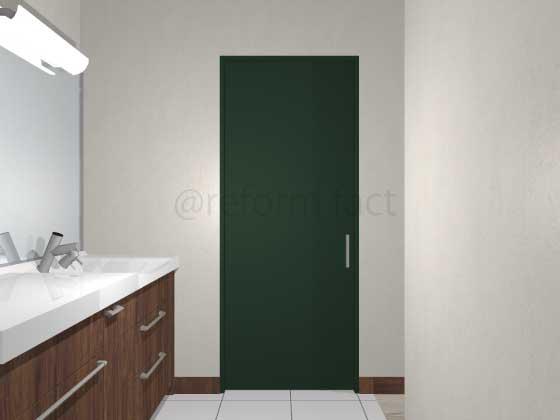 扉ドアシート張り,紺色,黒色,引き戸