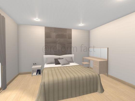 寝室,エコカラット,ストーングレース