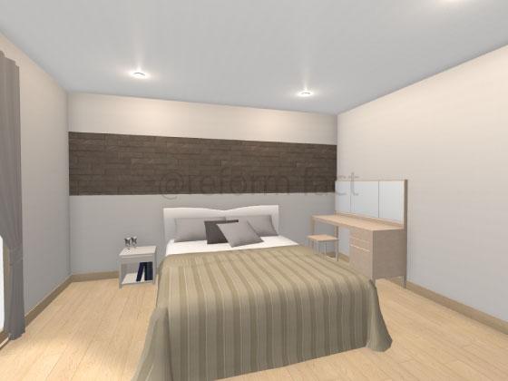 寝室,エコカラット,ラクオーツ
