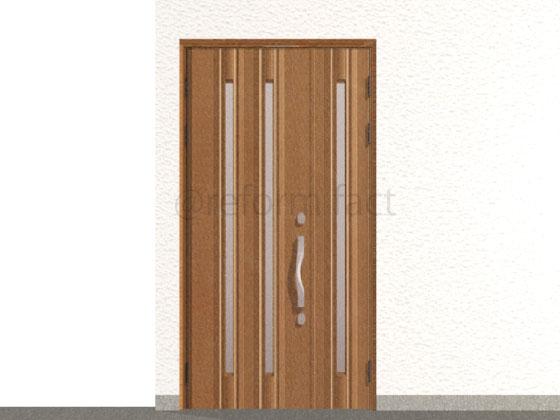 玄関ドア,工事後