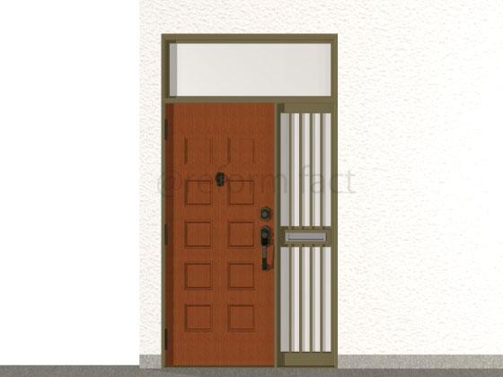 玄関ドア,工事前