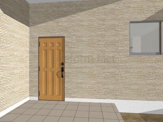玄関ドア,開き戸