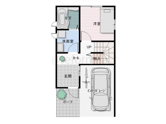 戸建て,一軒家,29坪,1階,図面