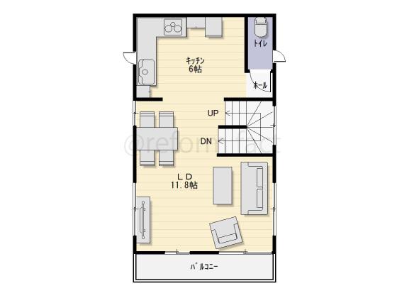戸建て,一軒家,29坪,2階,図面