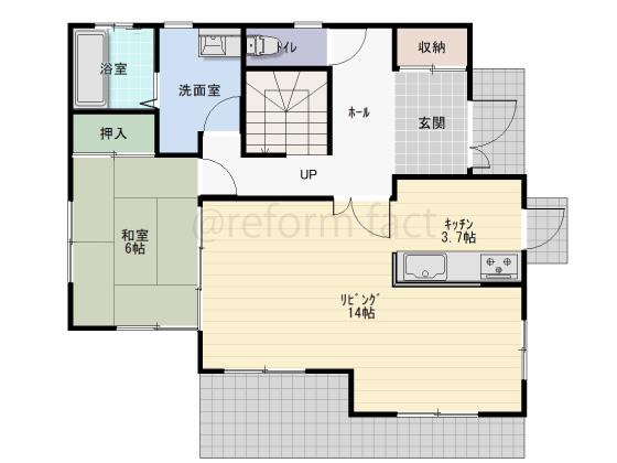 戸建て,一軒家,36坪,1階,図面