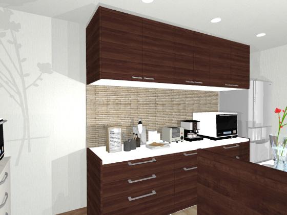 キッチン,カップボード,食器棚,グラナスライン