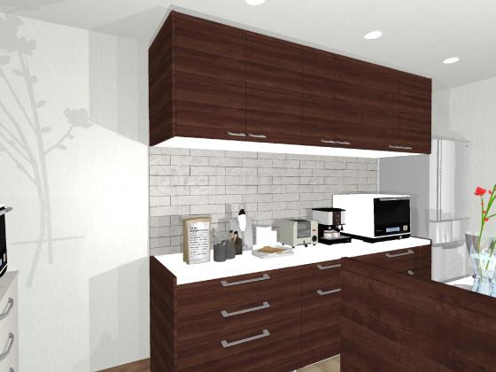 キッチン,カップボード,食器棚,ラクォーツ