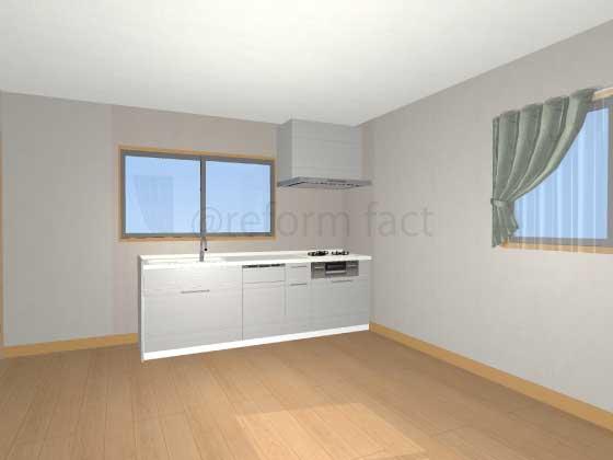 2階にキッチンを増設する