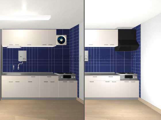 キッチン換気扇を交換、費用はどれくらい?