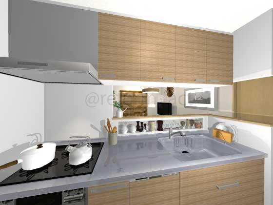 キッチン天板,ステンレス