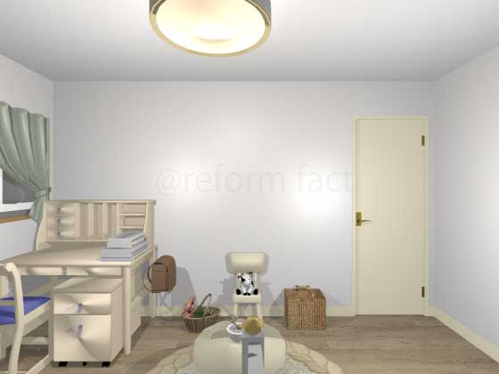 子供部屋,ニッチ収納2,工事前