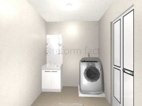 洗面台,W600,60cm,交換,TOTO,Vシリーズ