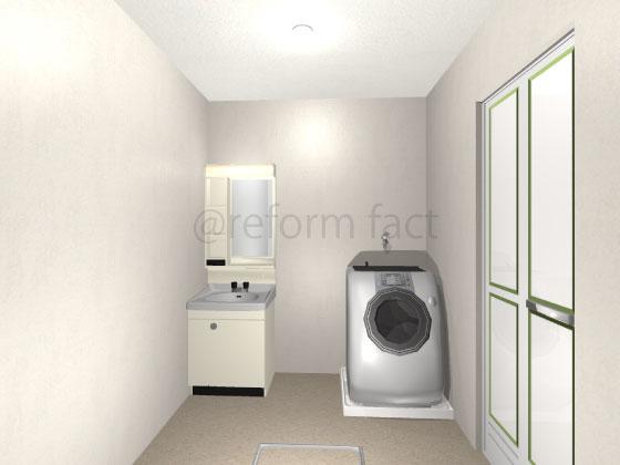 ドラム式洗濯機,洗濯パン
