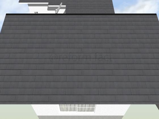 天窓,撤去後,屋根補修