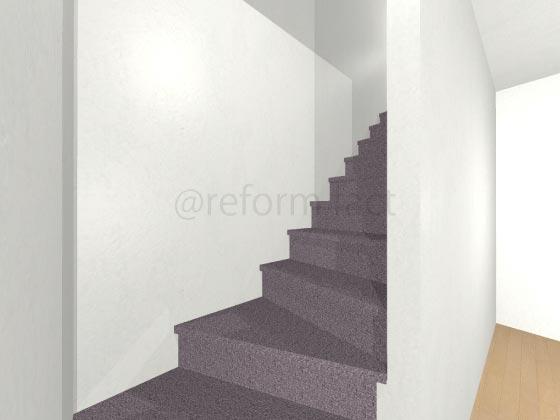 階段カーペット,紫色