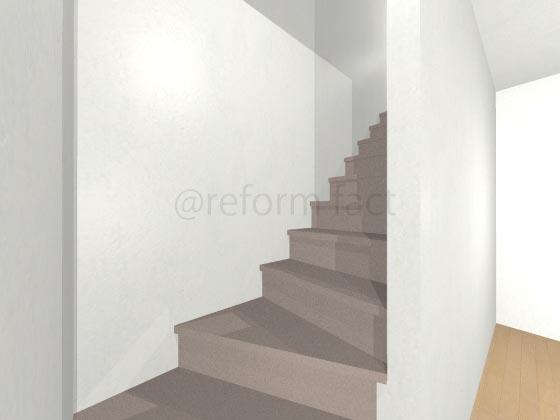 階段カーペット,ベージュ