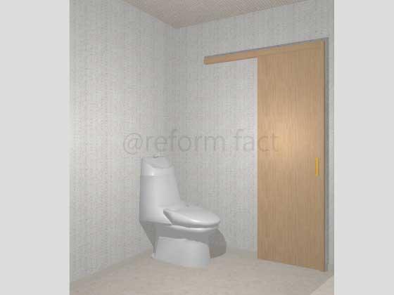 トイレ引き戸