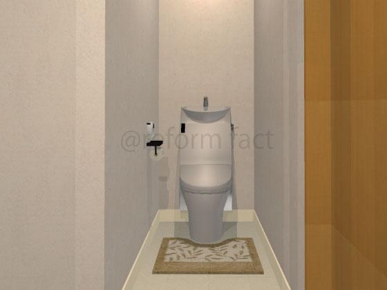トイレ,交換後,LIXILアステオ