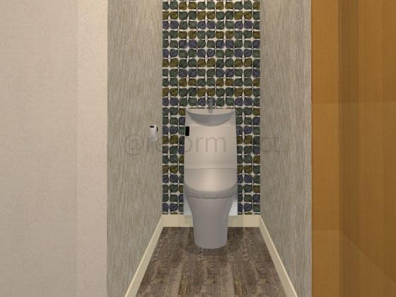 トイレ,壁紙,床