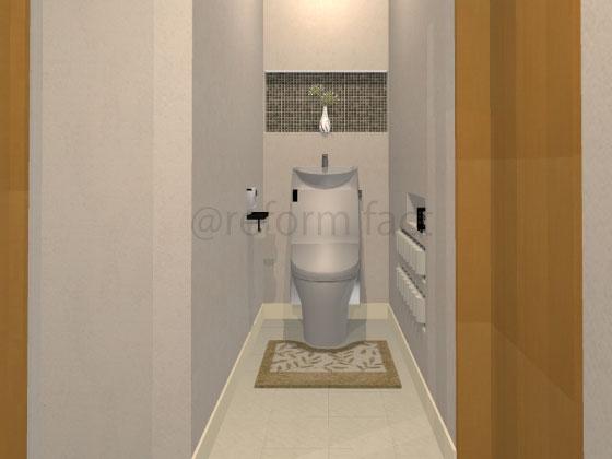 トイレ,ニッチ収納