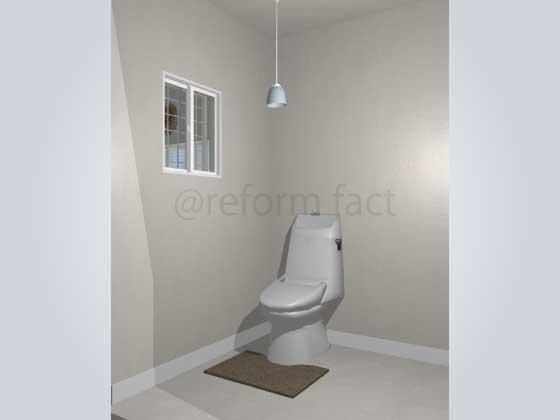 トイレ,腰壁パネル,工事前