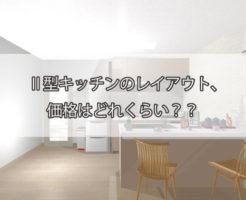 Ⅱ型キッチン,レイアウト,価格