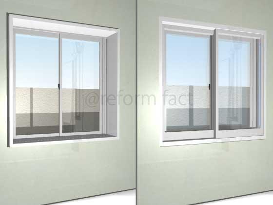 浴室に二重窓をつけたい