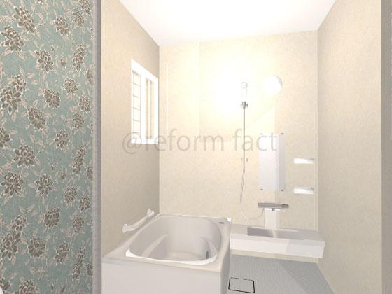 浴室壁,シート,リアテック,ダイノック,ベージュ