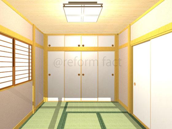 和室,壁,塗り替え,聚楽,ベージュ